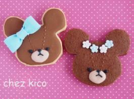 くまのアイシングクッキーの作り方(ジャッキー)