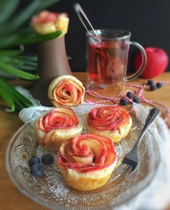 Feuilletés Pom'Roses