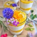 Mousse légère coco-mangue
