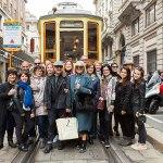 Sui binari di un vecchio tram con I Murr e Urban Finder
