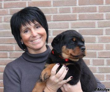 Daisy Peeters met Ipo (Belgie)