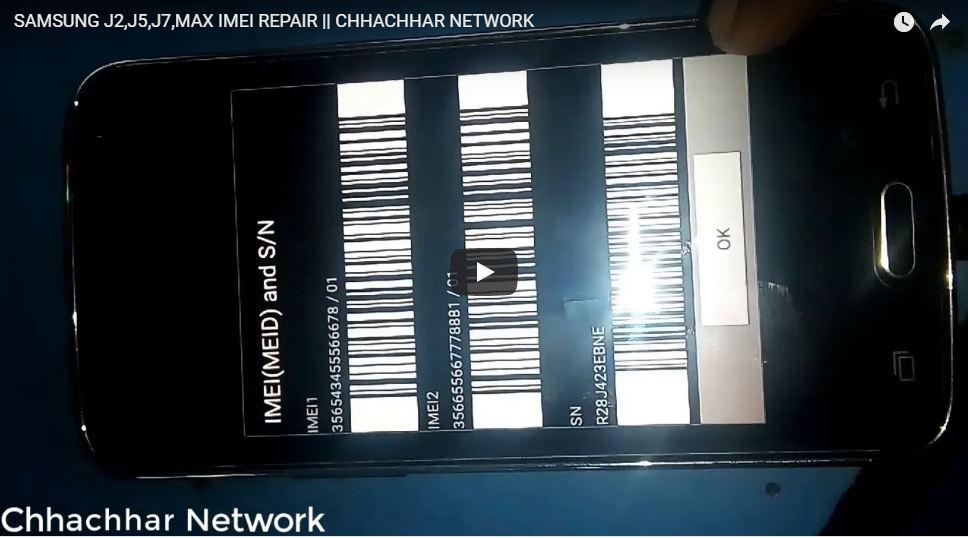 SAMSUNG J2,J5,J7,MAX IMEI REPAIR | CHHACHHAR NETWORK