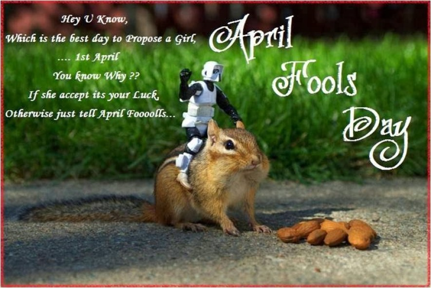 April Fool\'s Day Quotes, Sayings, Status & Funny Messages