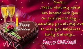 Happy birthday wishes to dear one