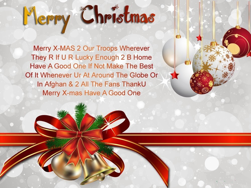 Advance Merry Christmas Wishes, Quotes & Messages 2017