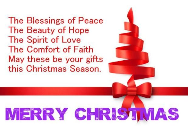 250+ Latest Collection of Merry Christmas Quotes, Wishes, SMS 2017