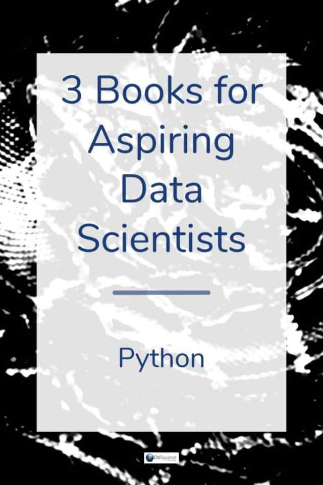 Want to be a data scientist but your Python isn't up to scratch? Check out these 3 Essential Python books for aspiring data scientists. #datascience #pythonbooks #pythonprogramming