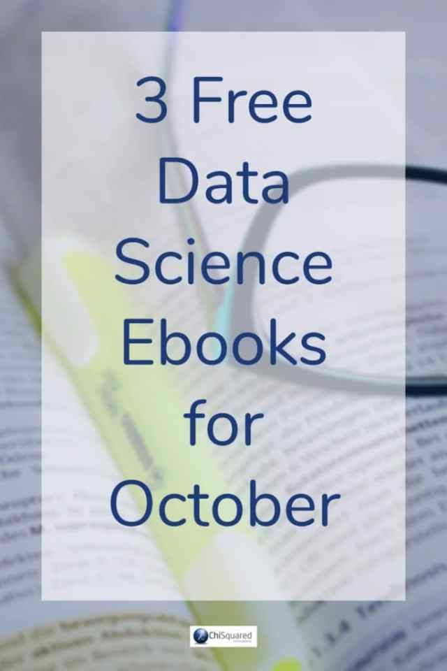Check out our 3 Free Data Science Ebooks for October #rprogramming #statistics