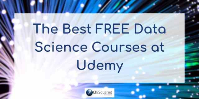 Best Free Data Science Courses at Udemy