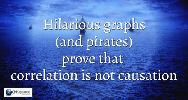 Hilarious graphs and pirates prove that correlation is not causation