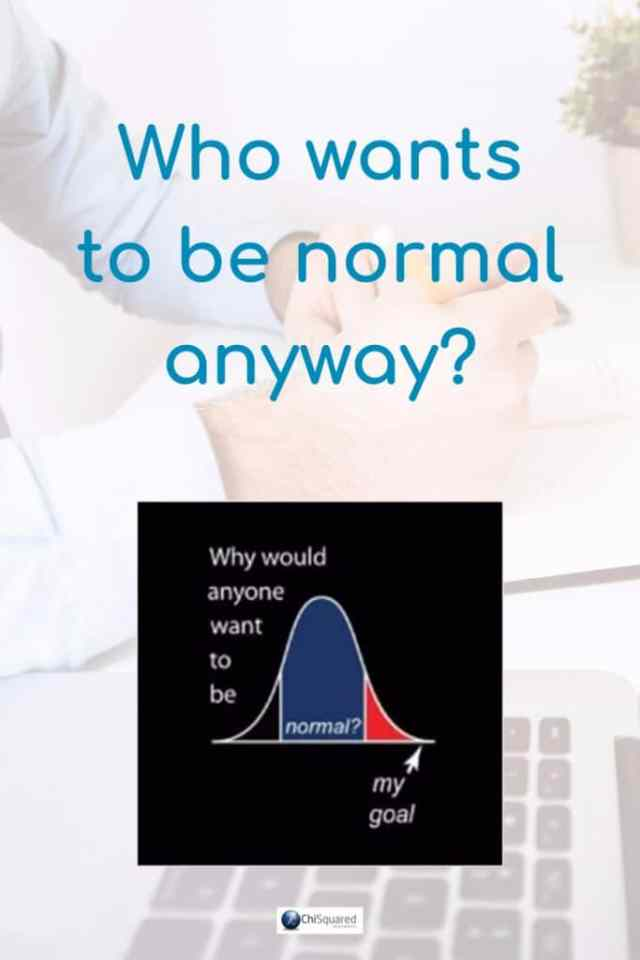 If your brain goes into standby mode and your eyes glaze over when you think about normal distribution, read this blog post that looks at it from the point-of-view of visualising data, not using complicated calculations and confusing stats. #normaldistribution #statistics