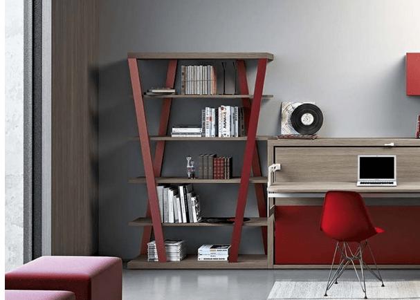 Idee arredamento soggiorno: la libreria moderna