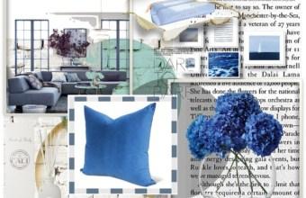 Abitare casa ampia e spaziosa in azzurro
