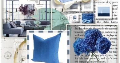 abitare casa in azzurro