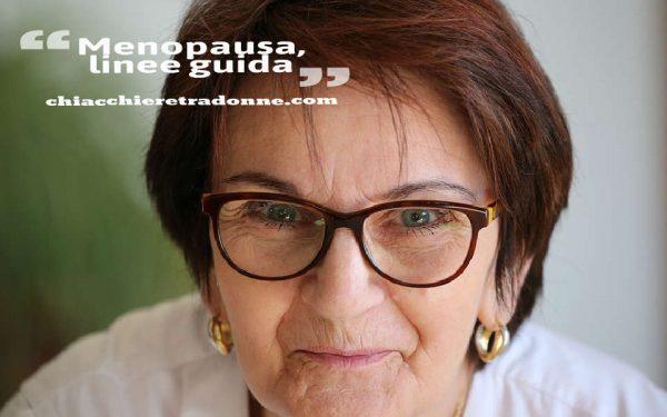 Menopausa linee guida