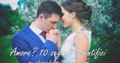 amore 10 segnali scientifici