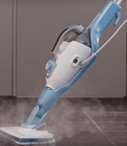 Come si usa una scopa a vapore