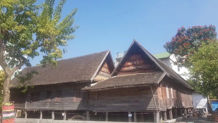Old teakwooden house
