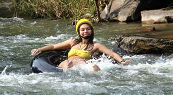 River tubing fun!