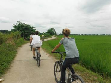 Cycling in pristine country