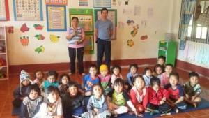 Teaching English in Khun Puai