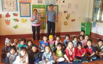 English teachers at Ban Khun Puai School