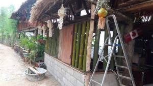 Welding work at Spicy Villa