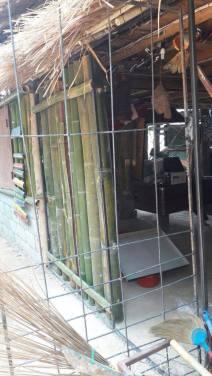 New welded door