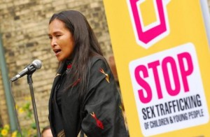 Controversial activist Somaly Mam fighting the Sex Trade
