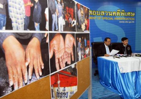 Thailand and Myanmar Fighting Human Trafficking