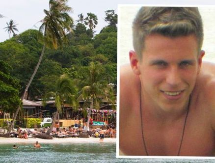 Stephen Ashton, 22, had been seeing in the New Year with a group of friends at a pub on the island of Koh Phangan when a fight broke out between two rival local groups.