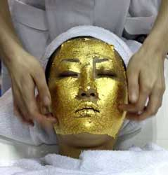 $13,000 and $200,000 will pay for gold thread face implants, a tradition apparently stretching back to ancient Egypt which its adherents believe tightens and brightens the skin.