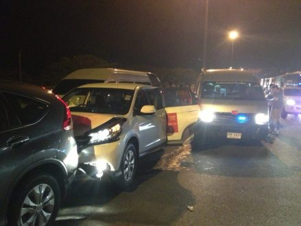 Paula Creamer, Ai Miyazato and Suzann Pettersen were involved in a  5-car accident on way to airport in Bangkok