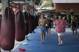 Tourists Fight Flab at Kickboxing Fitness Camps