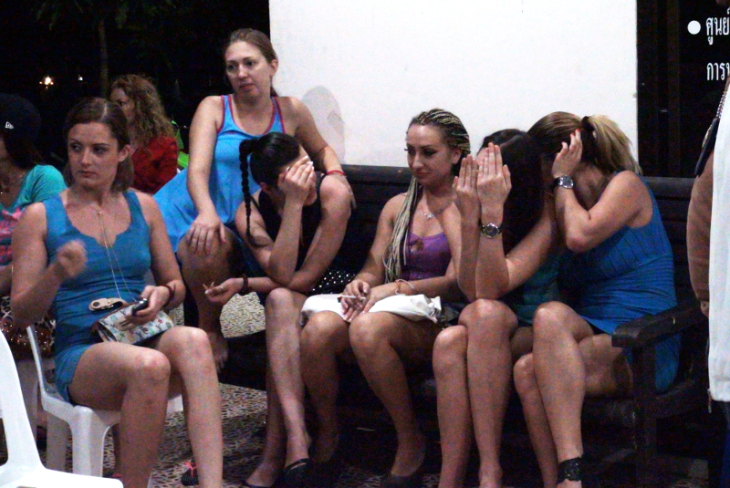 Police Crackdown On Russian Prostitution In Phuket-3034