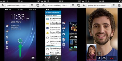 Try Out BlackBerry 10 With This In-Browser Demo