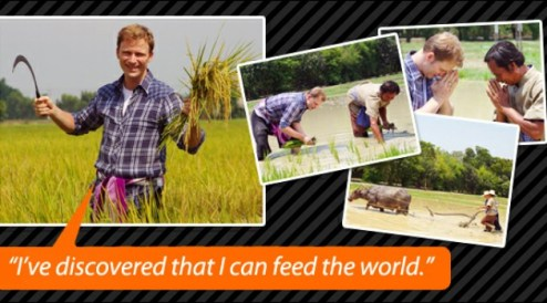 Urban families know very little about how rice is grown. Traditional organic rice farming has much to teach us about the most important lessons of life and virtues in the present context.