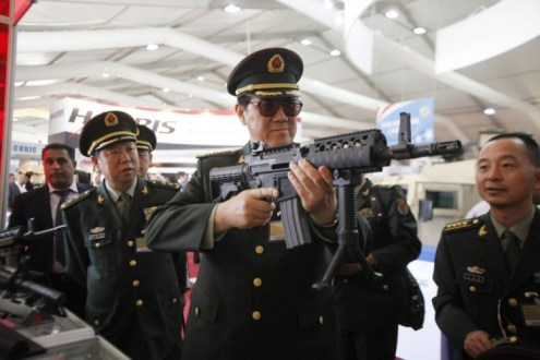 Asia Driving 'Explosion' in Global Arms Trade