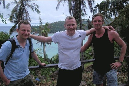 Ben Harrington, centre, pictured in Thailand with brother Mark, left, and friend Chris Stansfeld, shortly before his death Read more: http://www.thisissurreytoday.co.uk/Reigate-family-s-agonising-search-information-son/story-20010608-detail/story.html##ixzz2kd0or5rr Follow us: @thisissurrey on Twitter | thisissurreytoday on Facebook