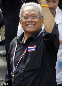 Mr Suthep's use of force to remove the government's administrative power is a violation of Article 113 of the Criminal Code, liable to death or life imprisonment