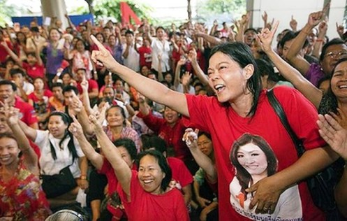 """""""We have no fear. All red groups will unite."""