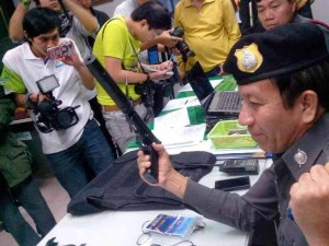 """This follows the arrest of three heavily armed Navy Seals on January 16, found in possession of """"supporter cards"""" for the Network of Students and People for Reform of Thailand—a group allied to the PDRC."""