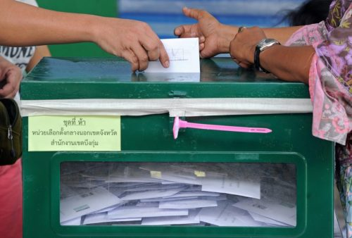 The voting ended as scheduled at 3 p.m. and ballot counting began at all the polling stations immediately