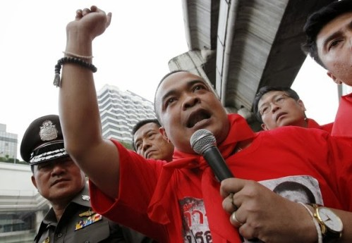 Mr. Jatupon Prompan, chairman of the United Front of Democracy Against Dictatorship (UDD).