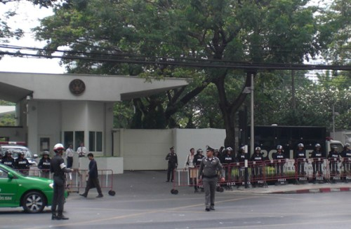 The US Goverment and Embassy in Bangkok
