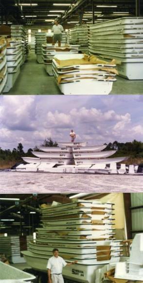 Terry Stark and the simple, robust boats he created at Carolina Skiff Read more here: http://www.newsobserver.com/2014/08/29/4107155/iconoclastic-founder-of-carolina.html#storylink=cpy