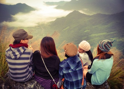 Tourists come to Chiang Rai Mountains in High Season