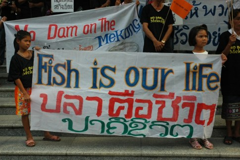 Protests against the Xayaburi Dam