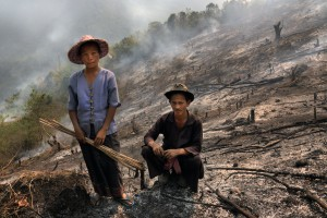 The government's ban against fires for land clearing will never work because it is a part of the local way of life