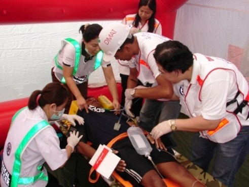 Thailand and 10 other countries in the region will compete against one another as part of emergency medicine training